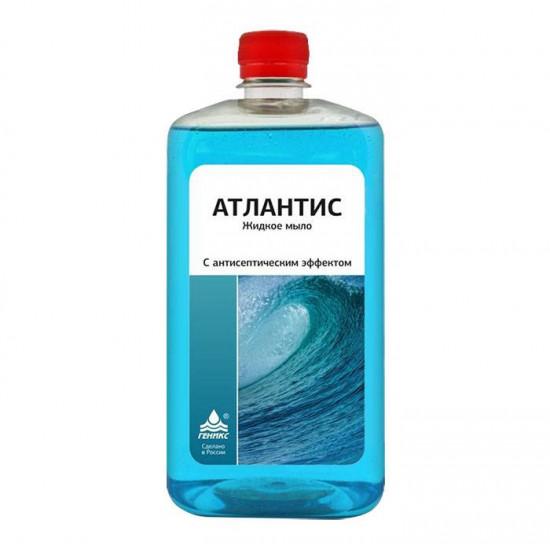 """""""Ника - Атлантис».  Жидкое мыло с антисептическим эффектом 1 л."""